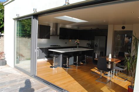 house extension remodel ranelagh dublin  contemporary kitchen dublin  dmvf
