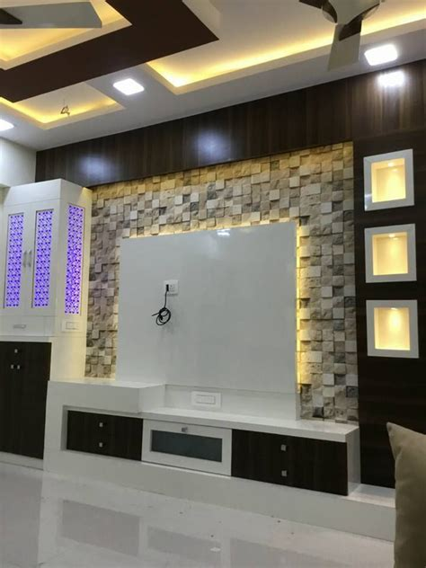 tv unit design  livig room wall unit designs living