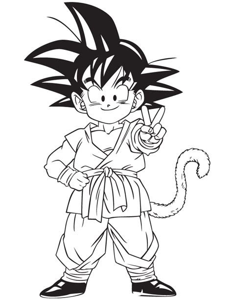 anime dragon ball gohan coloring page h m coloring pages