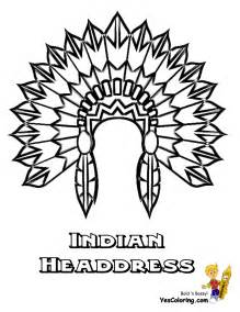 Indian Headdress Template by Indian Headdress Coloring Page Pictures To Pin On