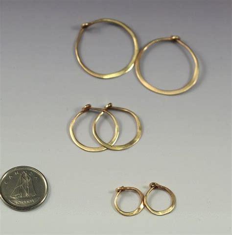 Hoop Earrings 1 2 Cm 14k gold hoop earrings 2 inch 14k goldfill hoops 2 thin