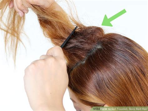 how to look sexier in bed 3 ways to get tousled sexy bed hair wikihow