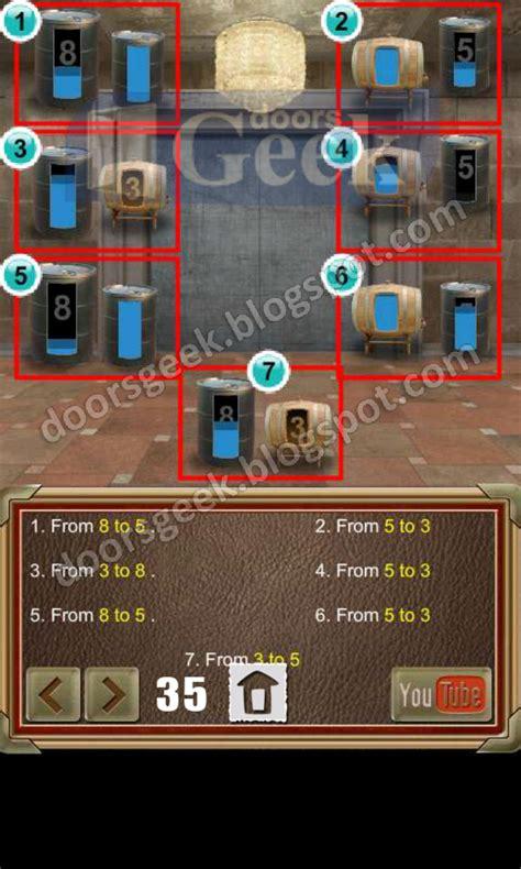 100 doors of revenge door 36 100 doors of revenge level 35 doors geek