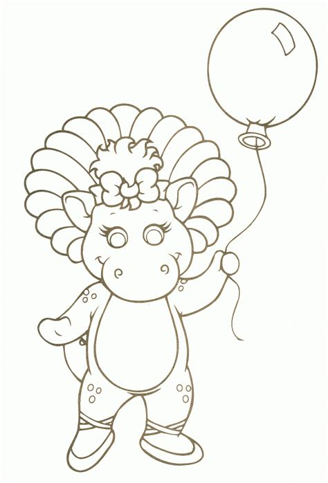 coloring pages for baby bop coloring pages and print for free