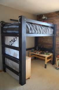How To Make A Bunk Bed We Built A Loft Bed Diy Loft Bed
