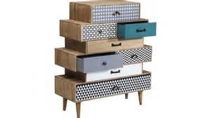 achetez votre commode scandinave 8 tiroirs en bois