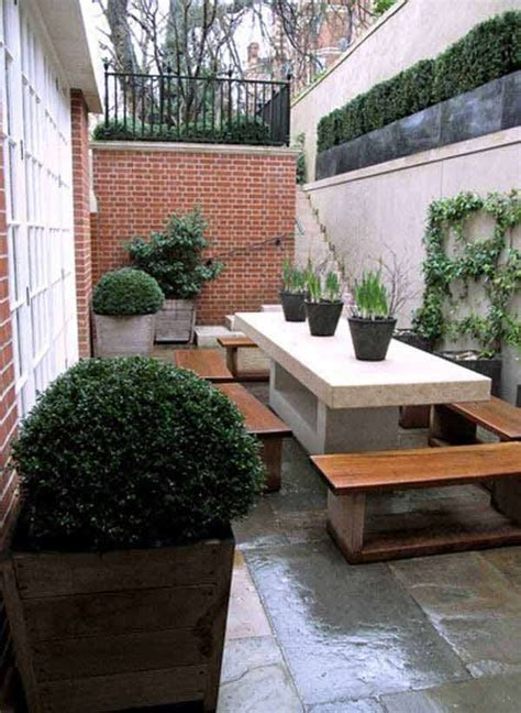 narrow backyard ideas 15 cool ideas for narrow and long outdoor spaces daily feed