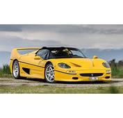 Photoshoot Yellow Ferrari F50 In Switzerland