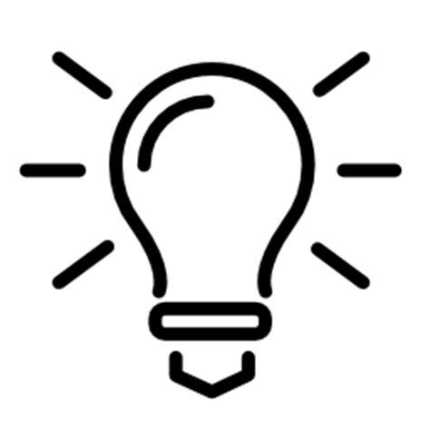 Idea Lamp Light Bulb Vector Png Clipart Panda Free Clipart Images