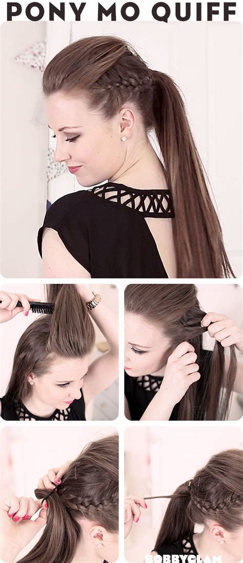 Mohawk Hairstyle For Black Tutorial by Best 25 Undercut Ponytail Ideas On