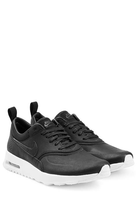 Nike Airmax Thea 3 nike air max thea premium leather sneakers black in