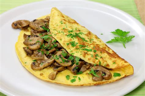 Diy Home Design Ideas Pictures Landscaping Vegetarian Mushroom And Leek Omelette Recipe