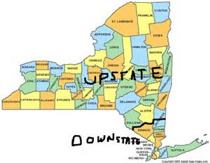 map of upstate new york counties state new york map new york map