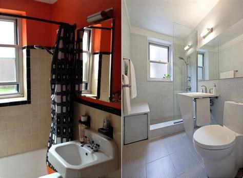 Kleines Bad Vorher Nachher badezimmer renovieren 5 projekte und vorher nachher bilder