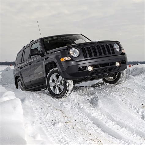 Off Road In The Snow With Jeep