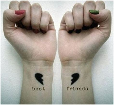 best friend tattoos for girls 88 best friend tattoos for bffs