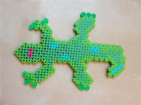lizard made out of perler projects lovetoknow