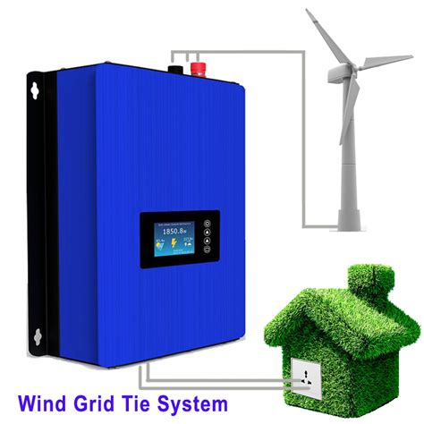 new wind grid tie inverter with dump load controller