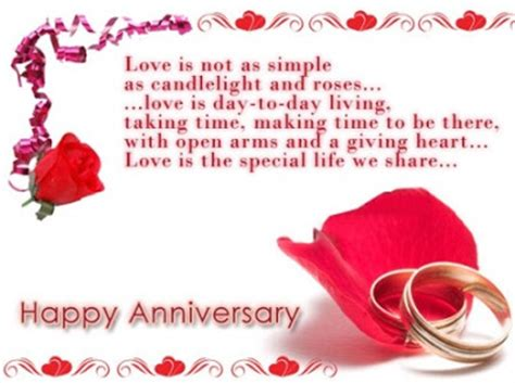 Wedding Anniversary Greetings And Messages by Free Anniversary Cards For Happy Marriage