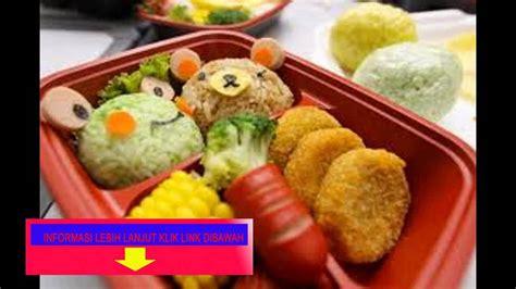 Makanan Anak Usia Sekolah menu sehat anak sekolah tips menu sehat anak