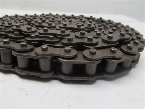 Roller Blind Chain 164 X 120 63sb 92 quot length side bow roller chain 3 4 quot pitch 1 2 quot roller width ebay