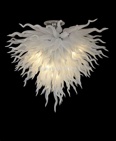 Dale Chihuly Chandeliers Free Shipping Elegant Home Lighting White Chihuly Style