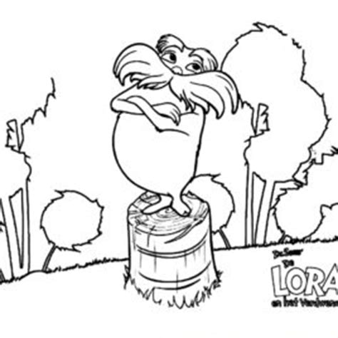 The Lorax Bears Coloring Pages by Lorax Coloring Page Drawing And Coloring Pages