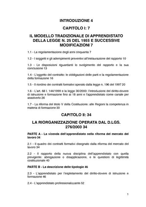 contratto apprendistato il contratto di apprendistato indice pagina 1 di 2