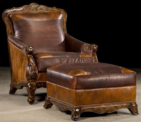 luxury leather recliner chairs western rustic luxury hair hide chair 49
