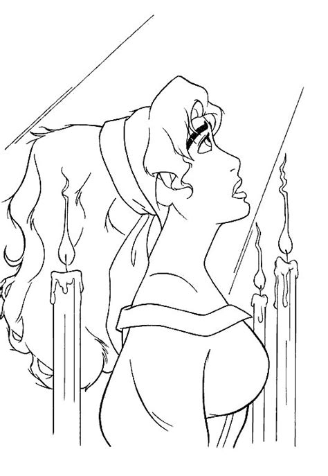 disney coloring pages hunchback notre dame hunchback of notre dame free colouring pages