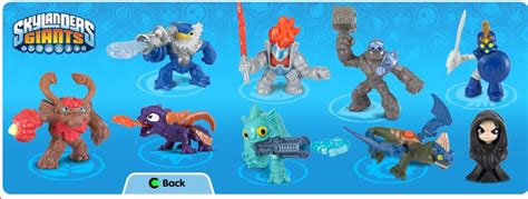 Kaos Happy Witches skylander toys coming to a mcdonald s happy meal