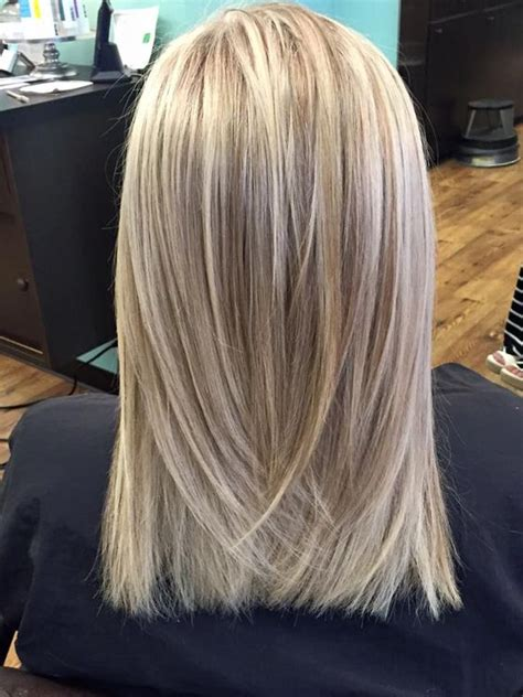 blonde and lowlights for medium straight hair beautiful colores and mechas iluminadas dimensionales on