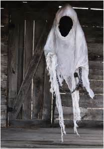 Scary Halloween Decorations On Sale Hanging Faceless Reaper W Lantern