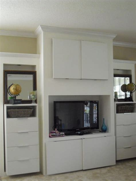 ikea built in entertainment center ikea hack entertainment center oh my goods