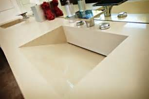 bathroom vanity tops and sinks caesarstone quartz vanity top w red sinks