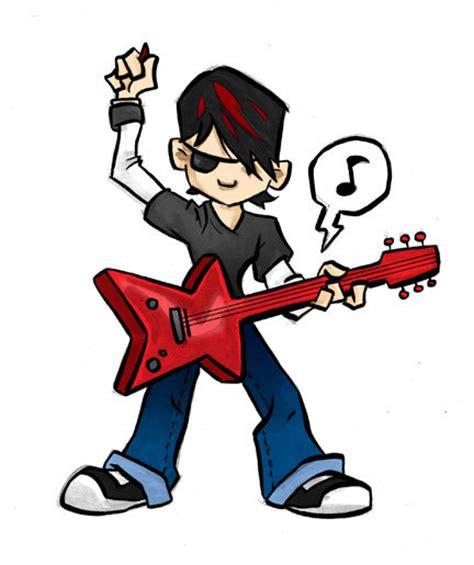 doodle like a rockstar rock background clipart
