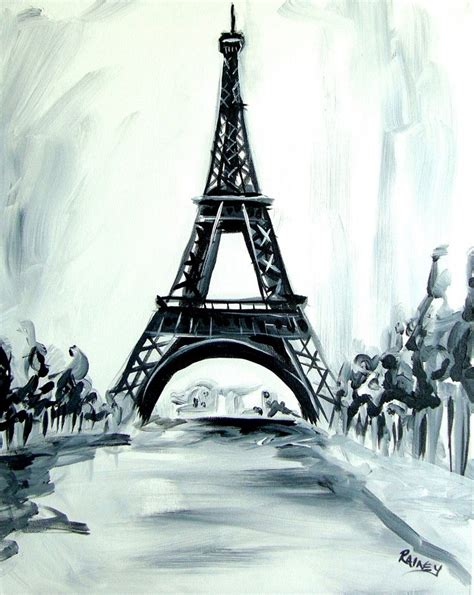 Eiffel Tower Painting With A Twist Decor For The New