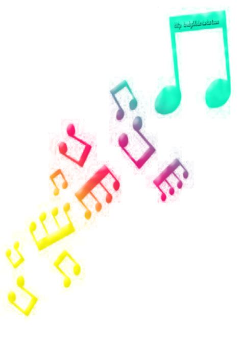 imagenes en png de notas musicales notas de musica png imagui