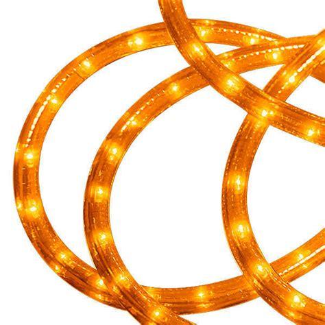 led 30 ft rope light amber led 13mm am 30kit