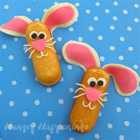 edible crafts for to make pin twinkie easter bunny treats edible crafts craft