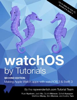 watchos by tutorials wenderlich