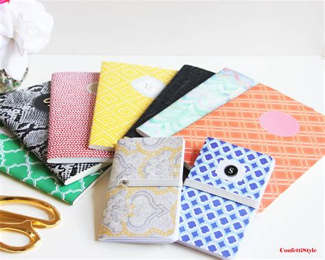 Handcrafted Notebooks - diy designer notebooks and getting a jump on handmade