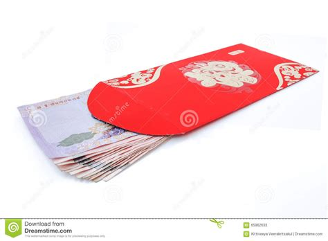 new year pocket meaning pocket and lucky money on new year stock image