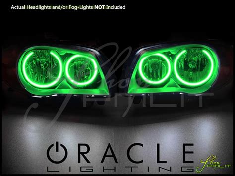 green light auto parts oracle 04 13 bmw 1 series plasma halo rings headlights bulbs