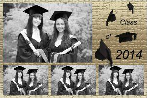 graduation photo booth layout photo booth print layout templates