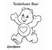 Care Bears Colour Tenderheart Bear