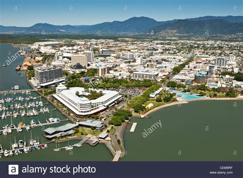 Central Queensland Australia Mba by Aerial View Of Marina And Central Business District
