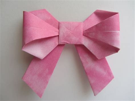 Cool Origami Step By Step - directions for a cool origami bow to do