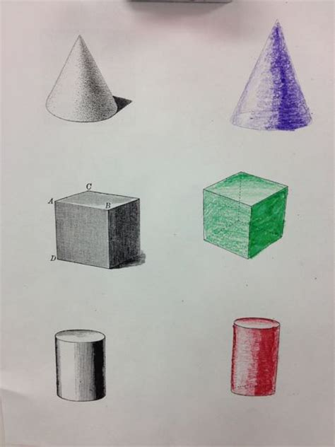 Drawing 3d Objects by 3d Objects And Drawing Teaching Ace