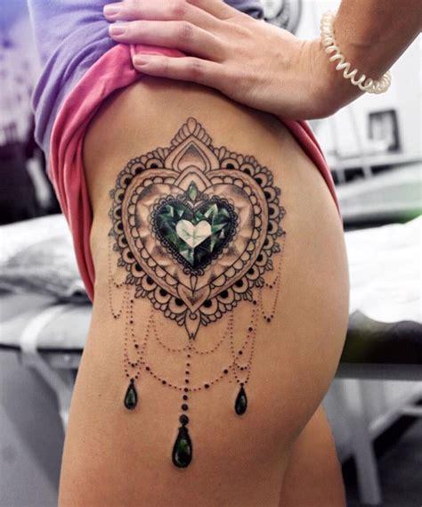 diamond tattoo on hip 177 best images about mandalas on pinterest polynesian